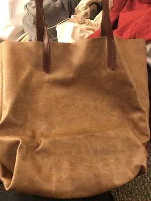 Brown leather bag for Sale in Sunbury, OH