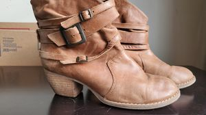 MIA size 8 ankle brown leather boots for Sale in Murfreesboro, TN