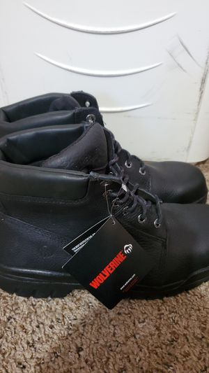 Wolverines work boots for Sale in Riverside, CA