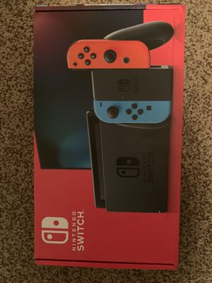 Nintendo Switch V2 Red and Blue - Brand New Unopened for Sale in Austin, TX