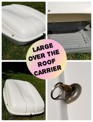 Roof carrier like new excellent condition for Sale in Hillsborough, NC