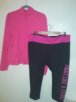 Like new ideology/champion l/xl workout clothes bundle for Sale in Tacoma, WA
