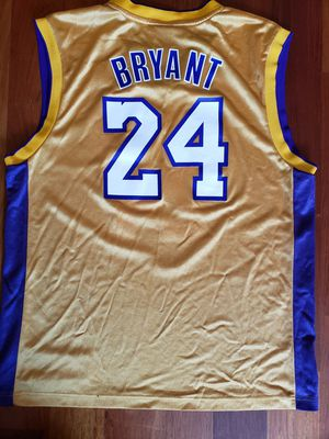 Kobe Bryant Los Angeles Lakers NBA basketball Jersey size large for Sale in Gresham, OR