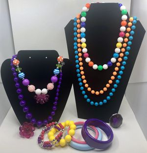 Claire's Colorful Girls' Costume Jewelry for Sale in Fountain, CO