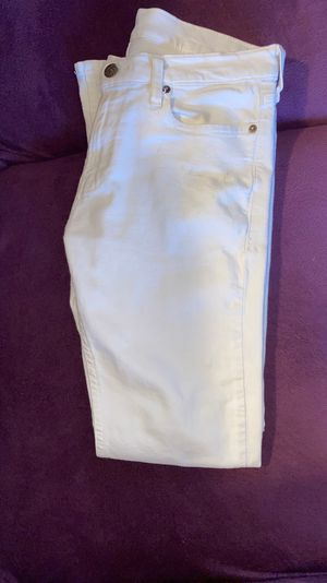 Hollister white jeans for Sale in Hayward, CA
