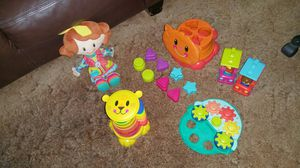 PlaySkool Lot Busy Baby Gift Set Dressy Girl Doll and 2 Cars for Sale in Chicago, IL