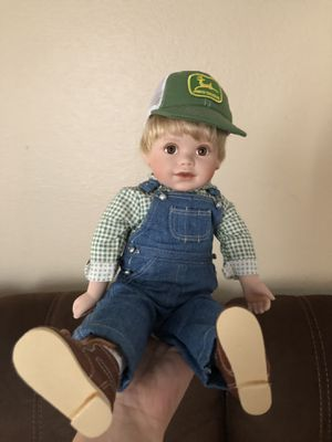 John Deere porcelain doll for Sale in Westminster, CO