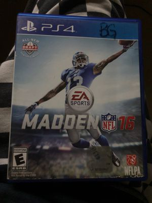 Madden NFL 16 for Sale in Victoria, TX