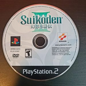 PS2 Playstation Suikoden 3 III video game Disk Only for Sale in Miami, FL
