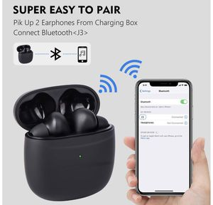 Wireless Earbuds Wireless Headphones Bluetooth Earbuds Bluetooth Earphones, Bluetooth 5.0 Deep Bass Touch Control Waterproof CVC8.0 TWS Stereo in-Ear for Sale in Fremont, CA