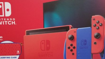 New Nintendo Switch Limited Edition Red with Case for Sale in Reston,  VA