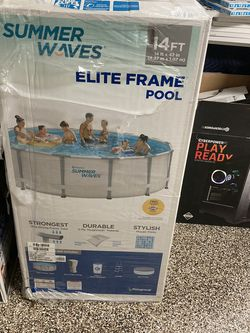 SUMMER WAVES 14ft SWIMMING POOL for Sale in Boca Raton,  FL