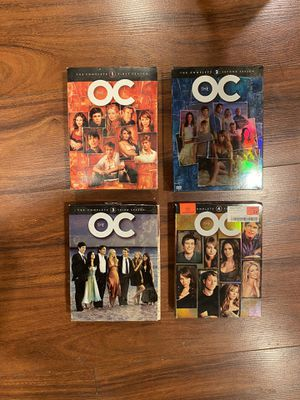 The OC DVD Box Sets (Seasons 1-4) for Sale in Upland, CA