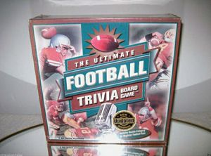 🏈The Ultimate Football Trivia Challenge Game by Outset Media  NEW-Sealed for Sale in Palatine, IL