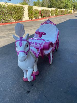 Princess horse and carriage power wheels for Sale in Santee, CA