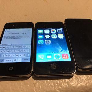 iPhones 4/4S for Sale in Gilbert, AZ