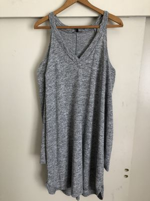 Plus Size - Gray dress - Charlotte Russe+ for Sale in Los Angeles, CA