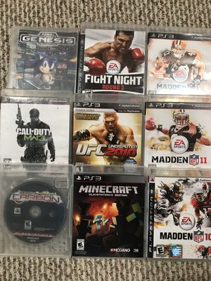 PS3 Games for Sale in MONTGOMRY VLG, MD