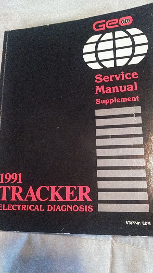Geo tracker electrical diagnosis