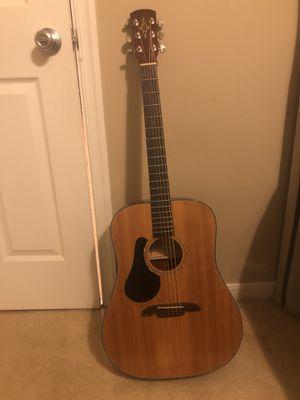 Alvarez RD20SL six string left handed acoustic guitar and bag for Sale in Richmond, VA