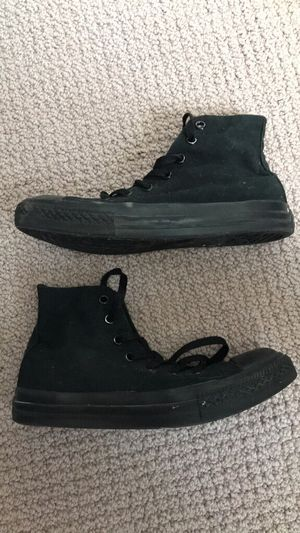 Converse Black High Top Youth for Sale in Freehold, NJ