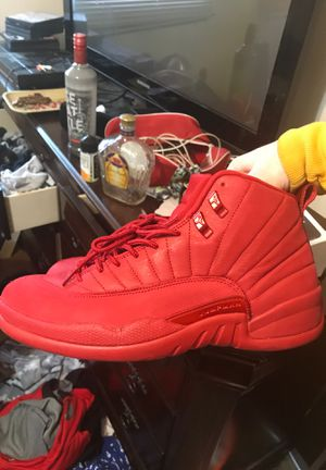 Jordan 12s all red for Sale in Tacoma, WA