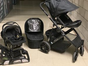 MUV Stroller with Car Seat and Bassinet for Sale in San Diego, CA