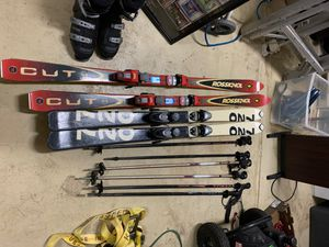 Skis and ski boots for Sale in Davie, FL