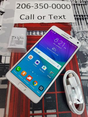 Unlocked samsung Galaxy Note 4 for Sale in Shoreline, WA