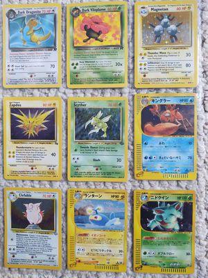 Pokemon cards Scyther and dark Vileplume left for Sale in Columbus, OH