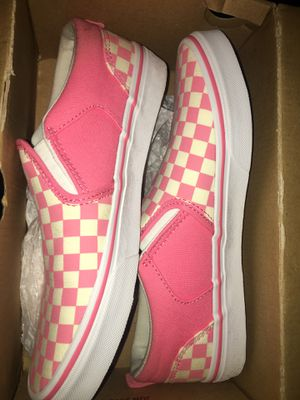 pink checkered vans for Sale in Seattle, WA