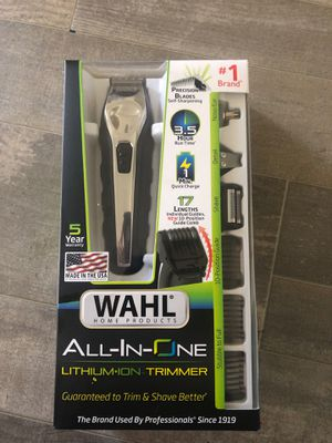 Trimmer( wahl all in one lithium ion trimmer) for Sale in Albuquerque, NM