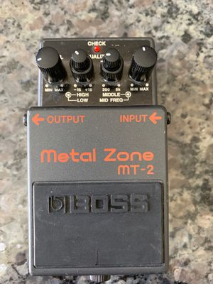 Boss Metal Zone MT-2 Guitar Pedal for Sale in Henderson, NV