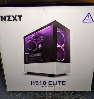 NZXT H510 ELITE MID TOWER RGB CASE for Sale in Bellflower, CA