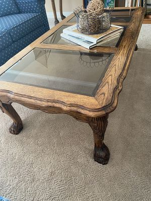 Solid oak claw foot set for Sale in Aliso Viejo, CA