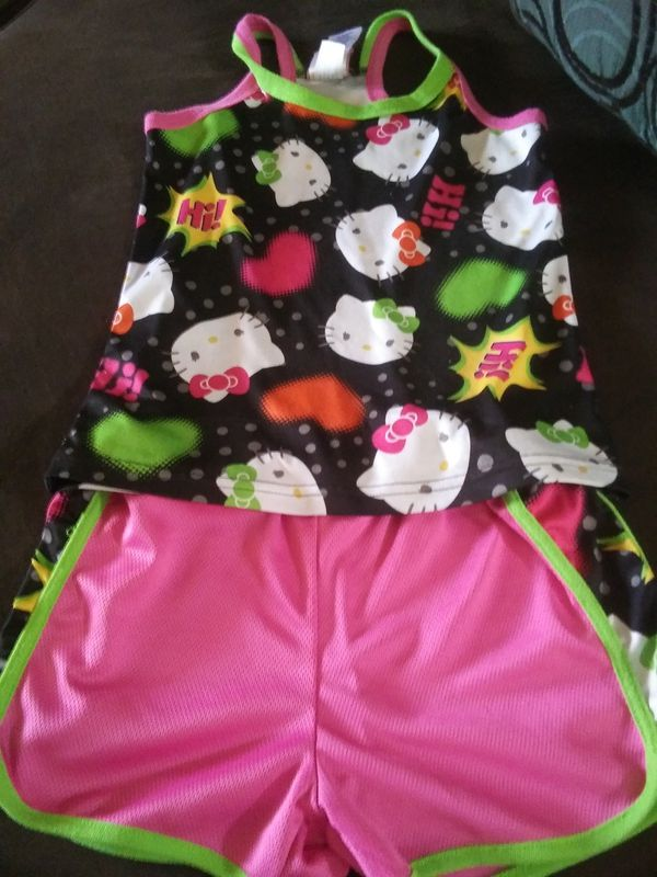 Hello kitty girls 7/8 outfit