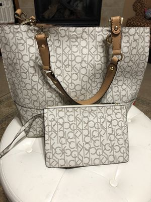 Calvinklein Bags | Calvin Klein Tote and Pouch for Sale in Sammamish, WA