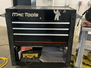 Mac Tool Box Cart 3 Drawer, Sliding Open top for Sale in Macomb, MI