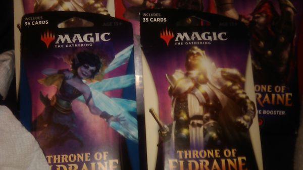 Magic 35 card booster packs.
