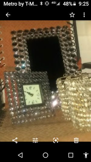 Mirror, clock, and 2 candle holders for Sale in Owensboro, KY