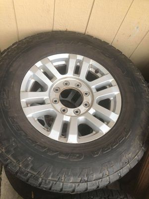 2017 f250 Terra gappler nitto tires with 8lug xlt stock rims no issues for Sale in MILTON, FL