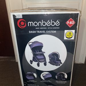 Monbebe Dash Baby Jogger and Car Seat for Sale in Montebello, CA