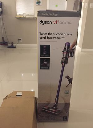 Dyson V11 Animal Torque SV 14 Retail $700 plus tax huge discount brand new sealed with extended warranty never opened with proof of purchase for Sale in Fort Lauderdale, FL