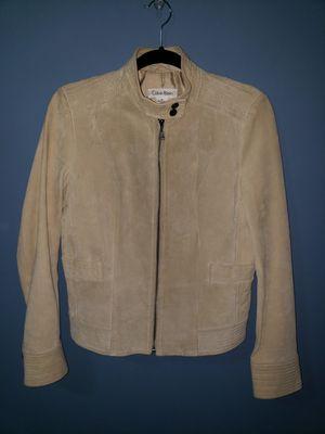 Calvin Klein Leather Jacket for Sale in Arlington, VA