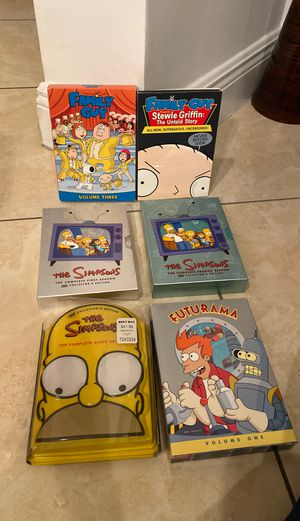 Family Guy, The Simpsons, Futurama DVDs for Sale in Royal Palm Beach, FL