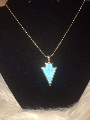Arrow Head Stone Necklace for Sale in Yuma, AZ