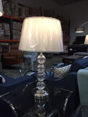 28.5 inchH 4-Glass Ball Stacked Table Lamp,6188T for Sale in Norwalk, CA