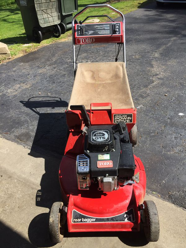 Toro Lawn Mower With Bag Self Propelled For Sale In