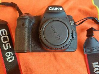 Canon EOS 6D 20.2MP Digital SLR Camera (Body Only) for Sale in Arvada,  CO