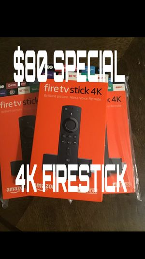 4K FIRE TV STICKS LOADED AND READY for Sale in Mesquite, TX